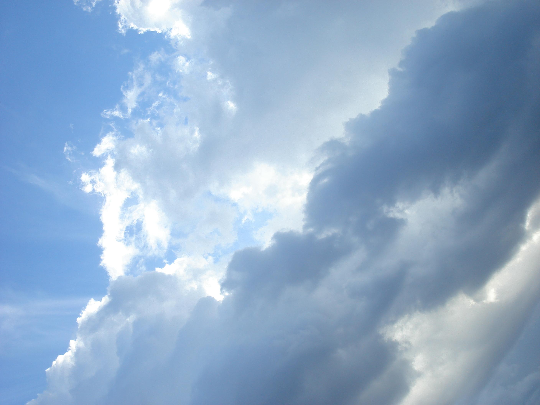 File Blue Cloudy Sky Jpg Wikimedia Commons
