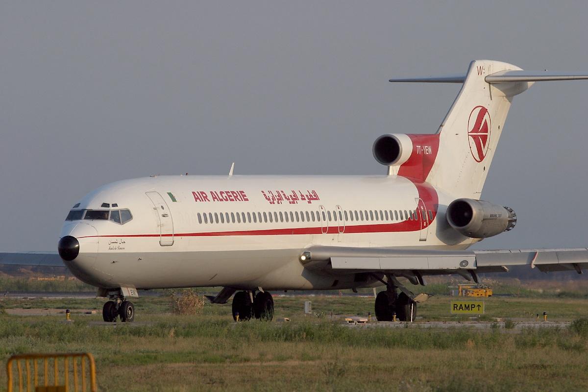 Boeing 727 wikip dia - Service a the algerien ...