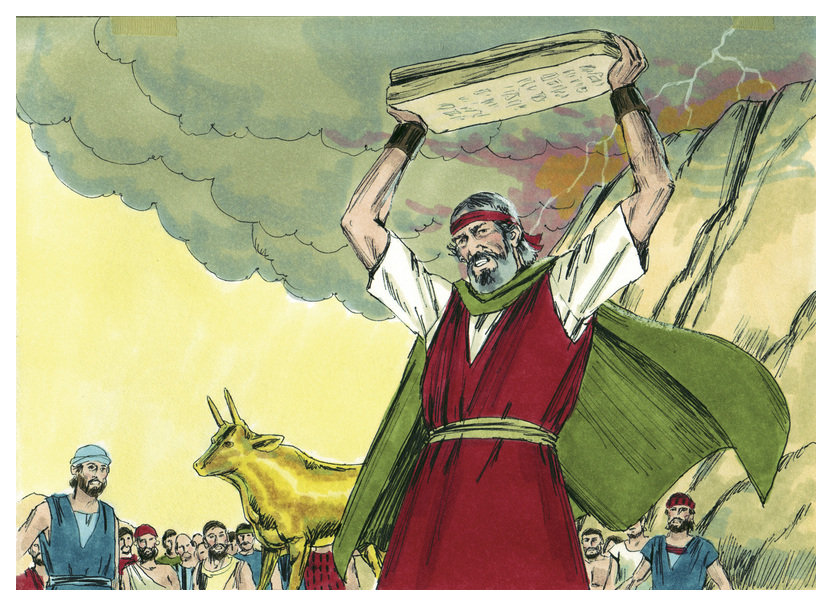 the ten commandments of god in the book of exodus Suspending preconceptions of diachronic disunity, the role of the decalogue in the coherent and complex world of the book of exodus is investigated.