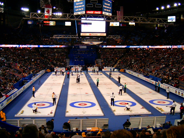 Where did the sport curling originate?