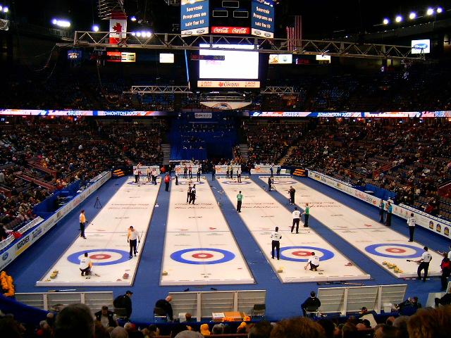 curlingová hala