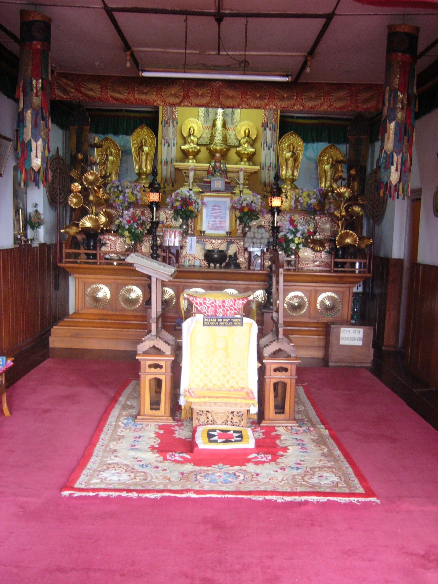 Inner Part of Peace Pagoda