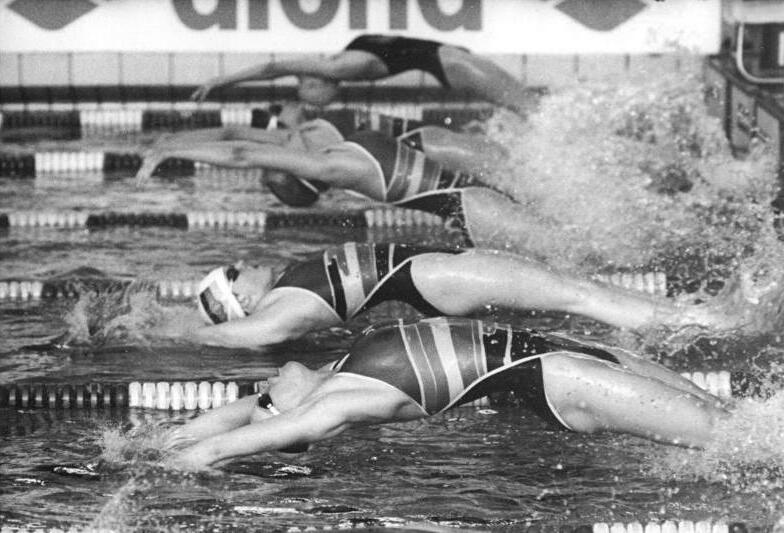 Diätplan für weibliche olympische Schwimmer