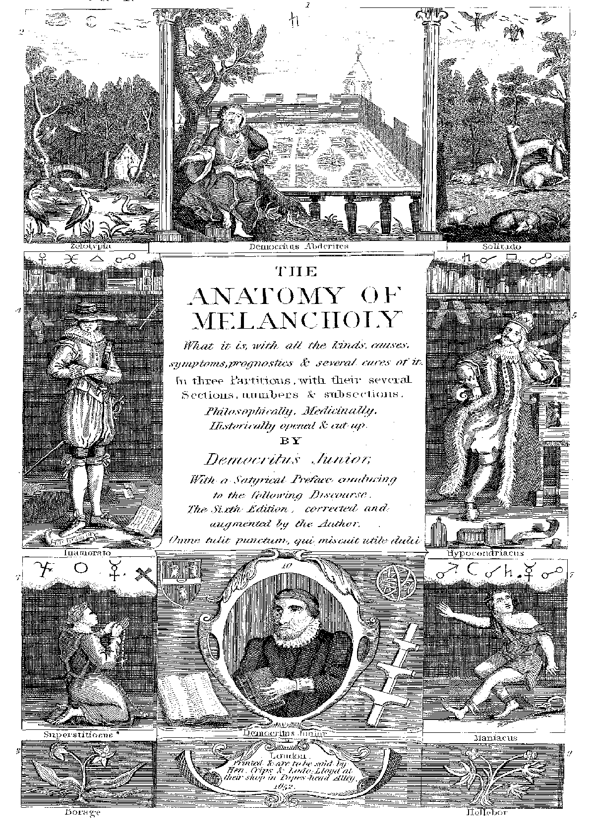 File:Burton melancholie frontispiece.png - Wikimedia Commons