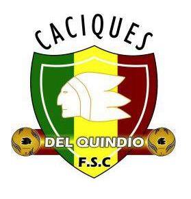 Resultado de imagen para escudo club caciques del Quindio
