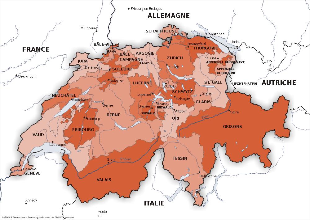 Cartina Della Svizzera Francese.Confini Della Svizzera Wikipedia