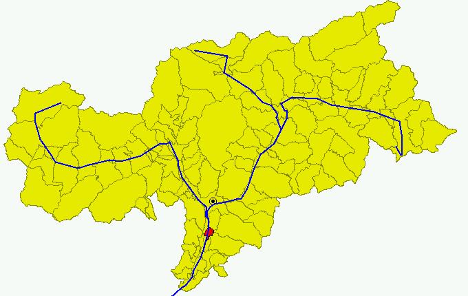 File:Cartina Comune BZ Bronzolo.png