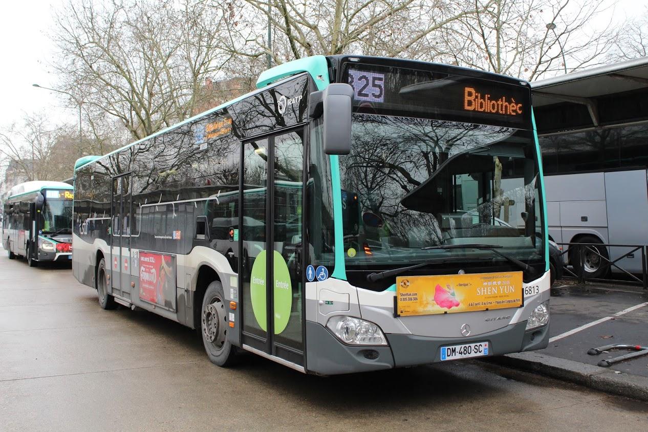 Bus de noel palaiseau