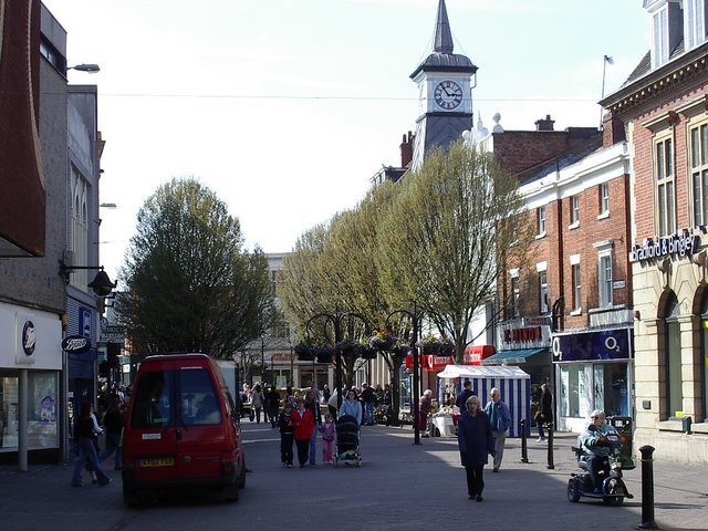 File:Clocktower in the marketplace - geograph.org.uk - 878152.jpg