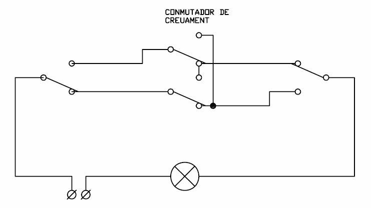 2 4 instalaciones el ctricas en viviendas elementos - Interruptor de cruce ...