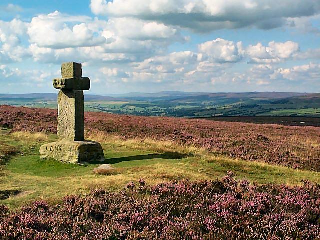 Cowper's Cross, Ilkley Moor - geograph.org.uk - 48269