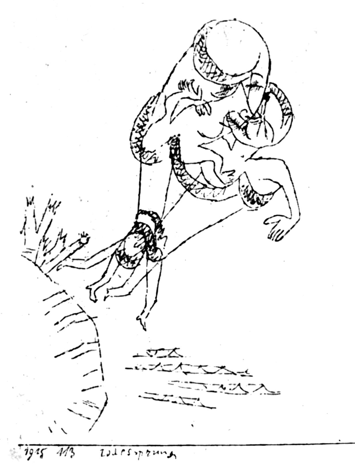 Paul Klee Drawings Sin...
