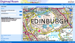 Web mapping and online data delivery service