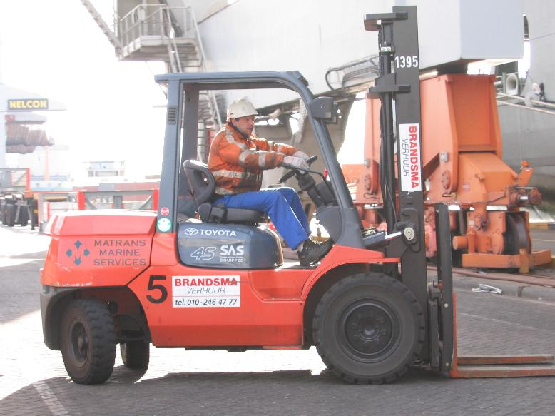 Docker on forklift