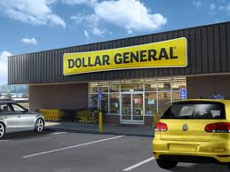 Exterior rendition of a Dollar General location