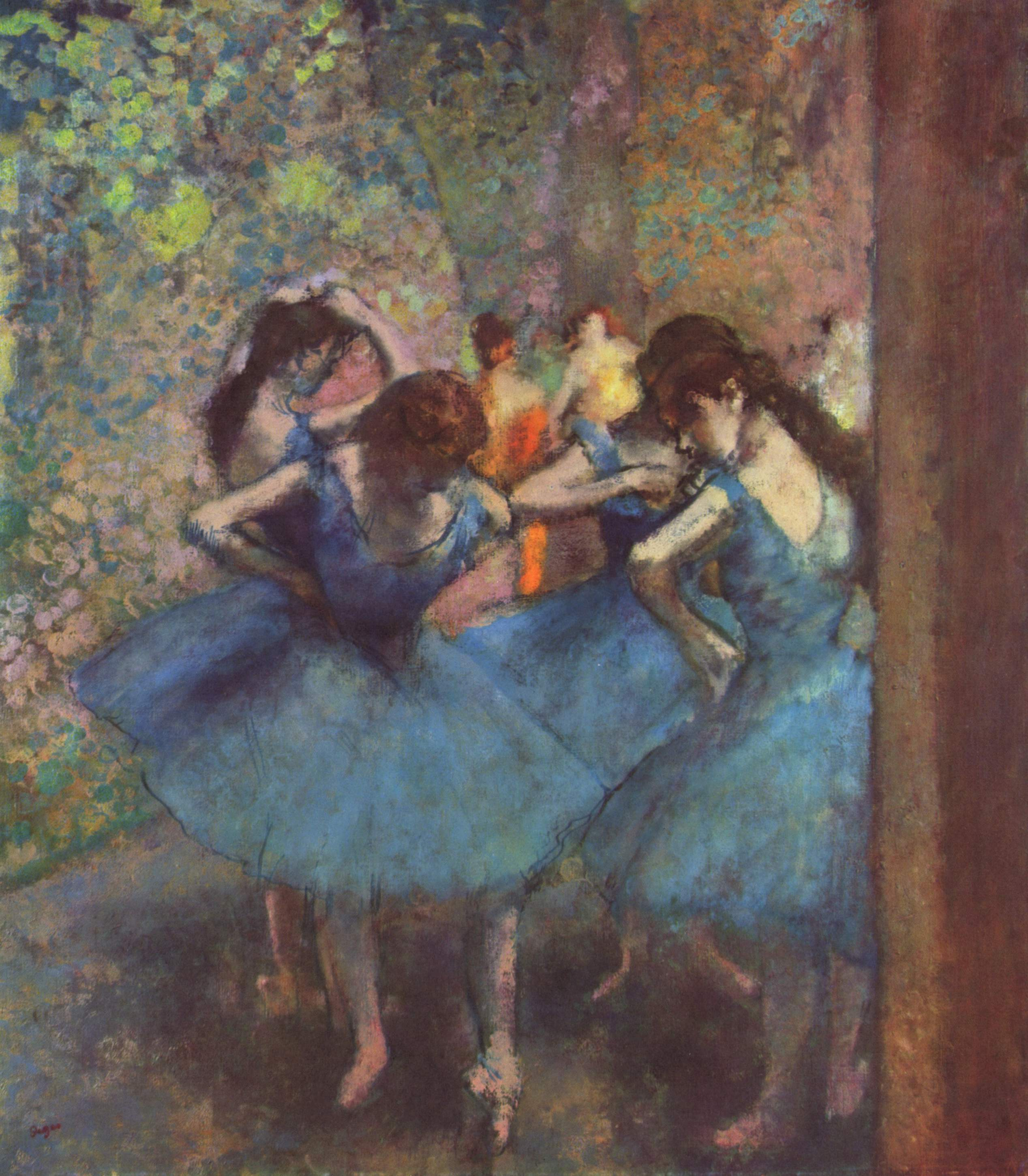 Artist Edgar Degas Paintings