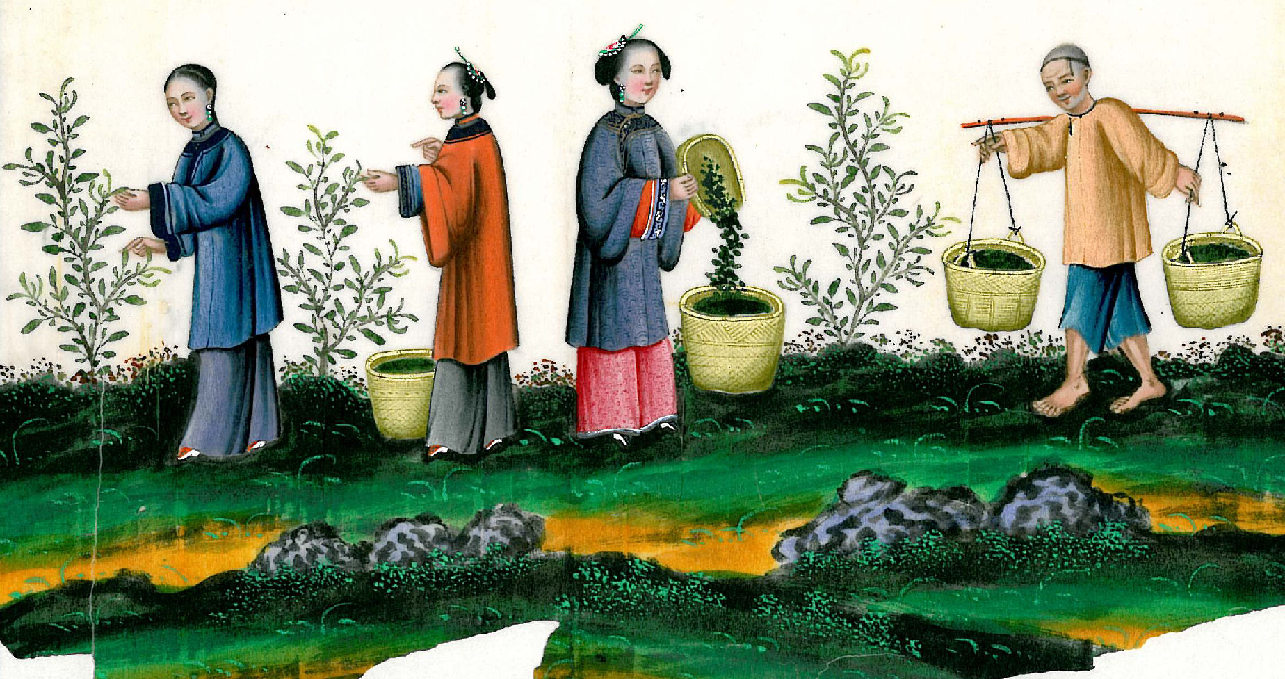 Ancient chinese clothing for the rich