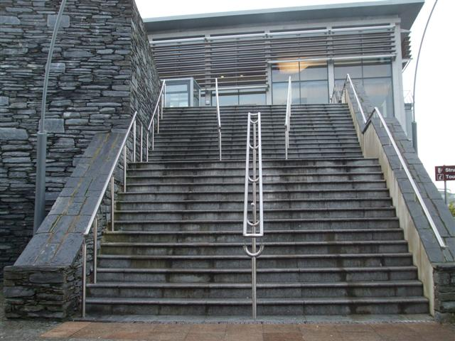 External Glass Handrails For Stairs