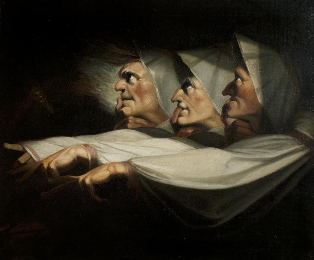 The Weird Sisters Macbeth 9