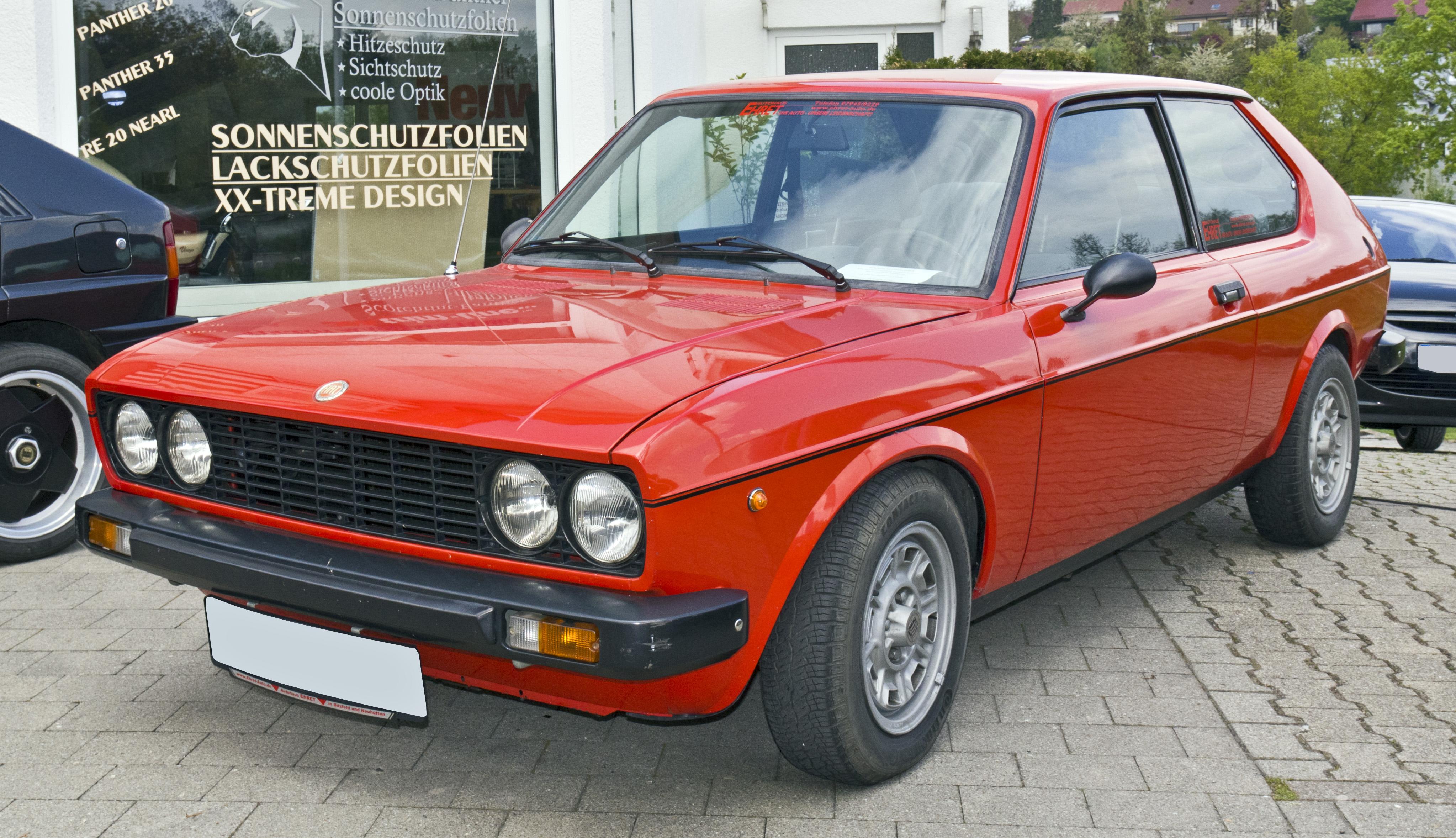 File Fiat 128 Berlinetta Front 20110416 Jpg Wikimedia