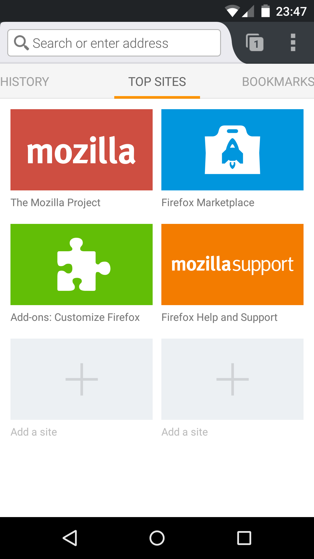 File:Firefox Mobile 35 0 Android 5 0 png - Wikimedia Commons