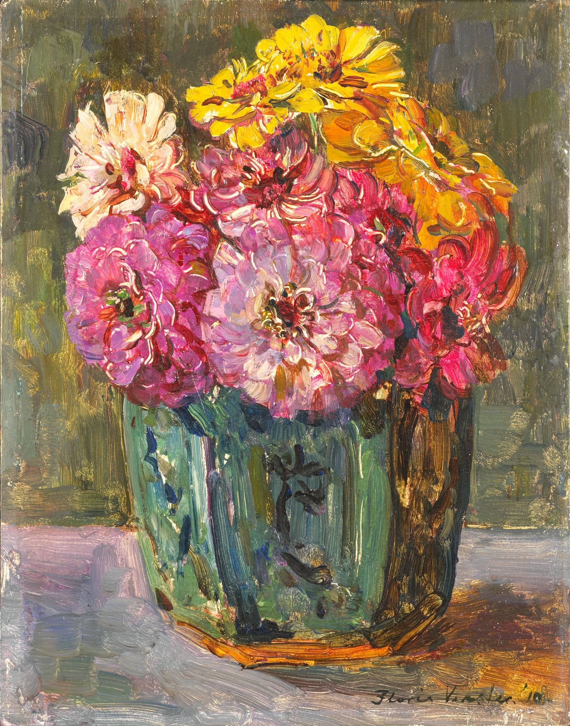 Famous Flower Paintings Van Gogh