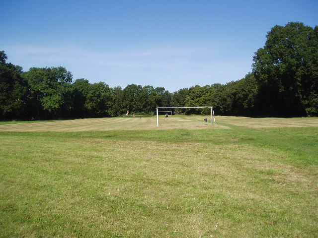 Football pitch, Coulsdon Common, Surrey - geograph.org.uk - 56944