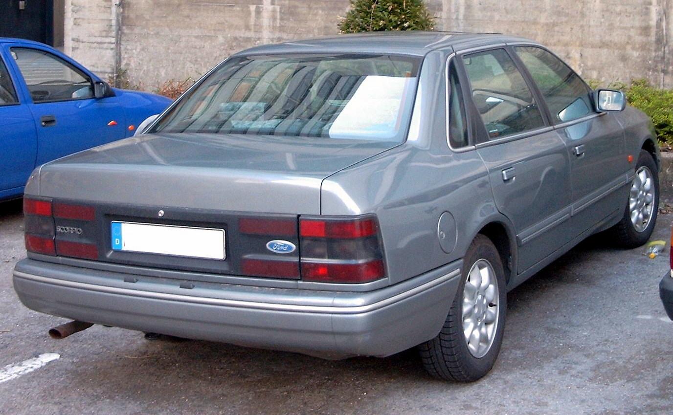 [Sujet officiel] Les voitures qui n'ont jamais vu le jour - Page 12 Ford_Scorpio_1992_Stufenheck