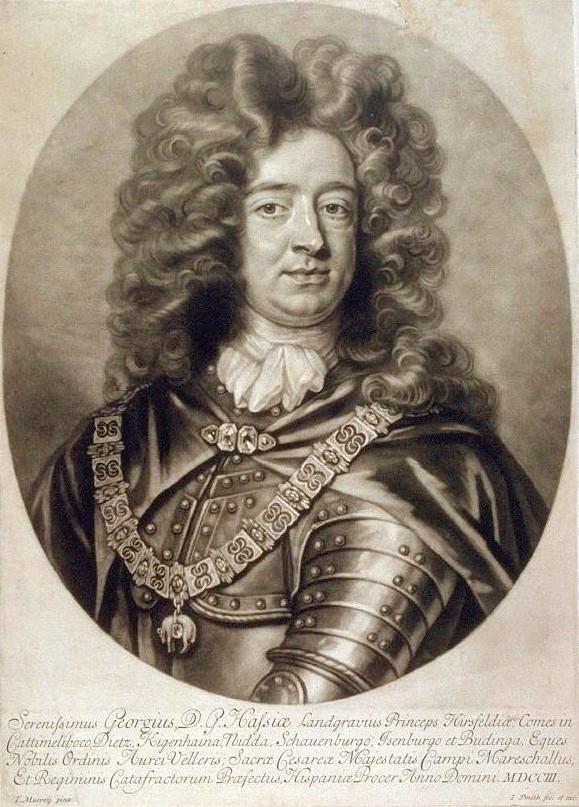 El príncipe Jorge de Darmstadt.