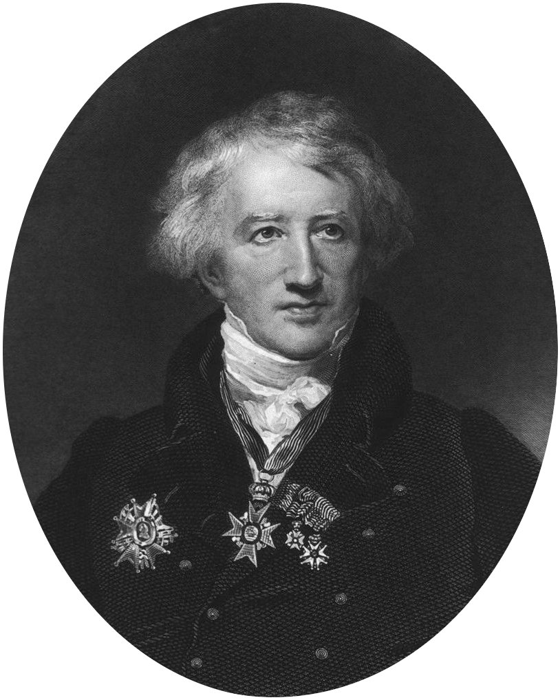 Depiction of Georges Cuvier