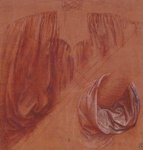 Gewandstudie Salvator Mundi da Vinci 2