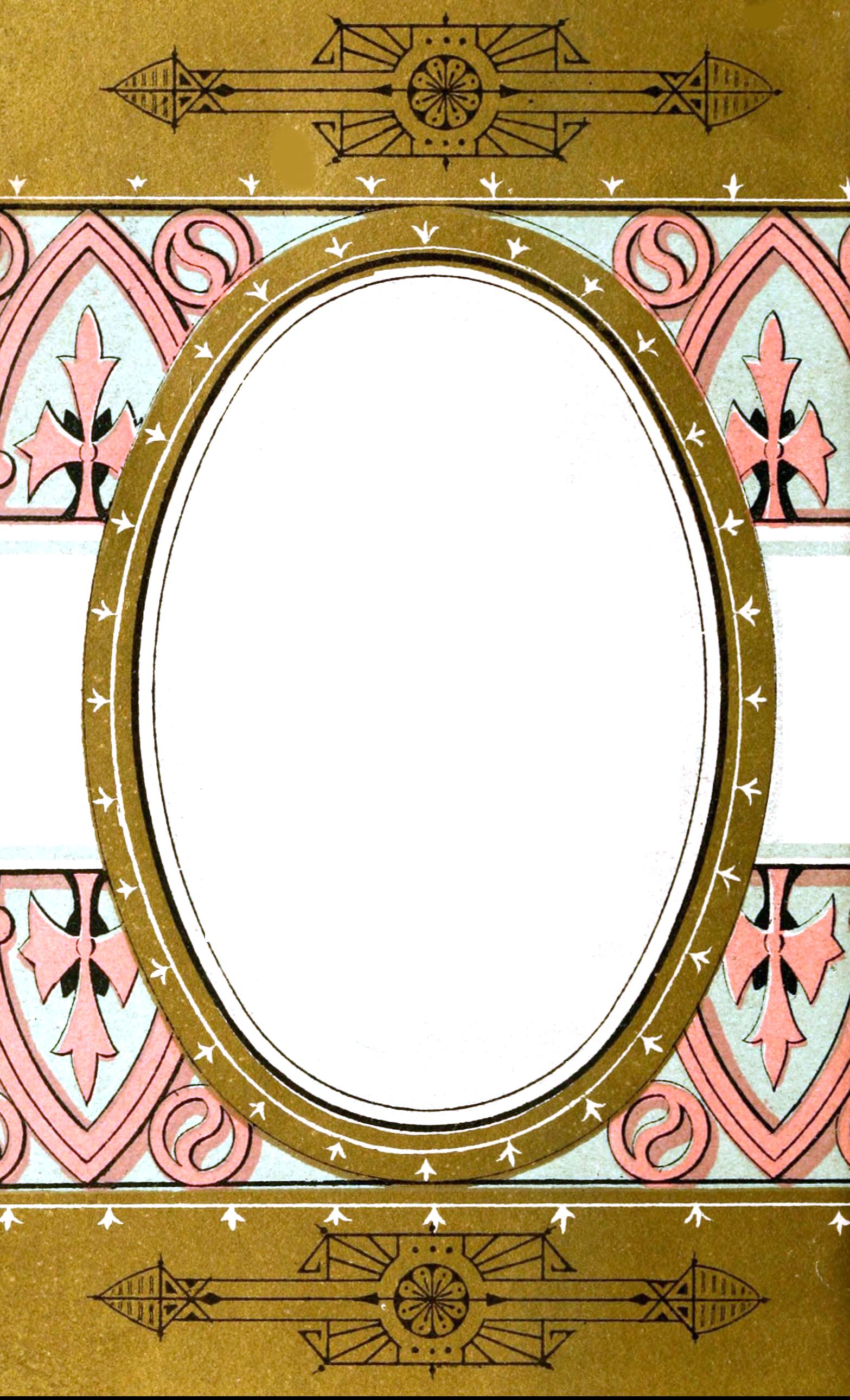 FileGold Oval Frame