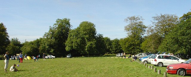 Goodwood Country Park, Eastern Car Park, West Sussex - geograph.org.uk - 59013