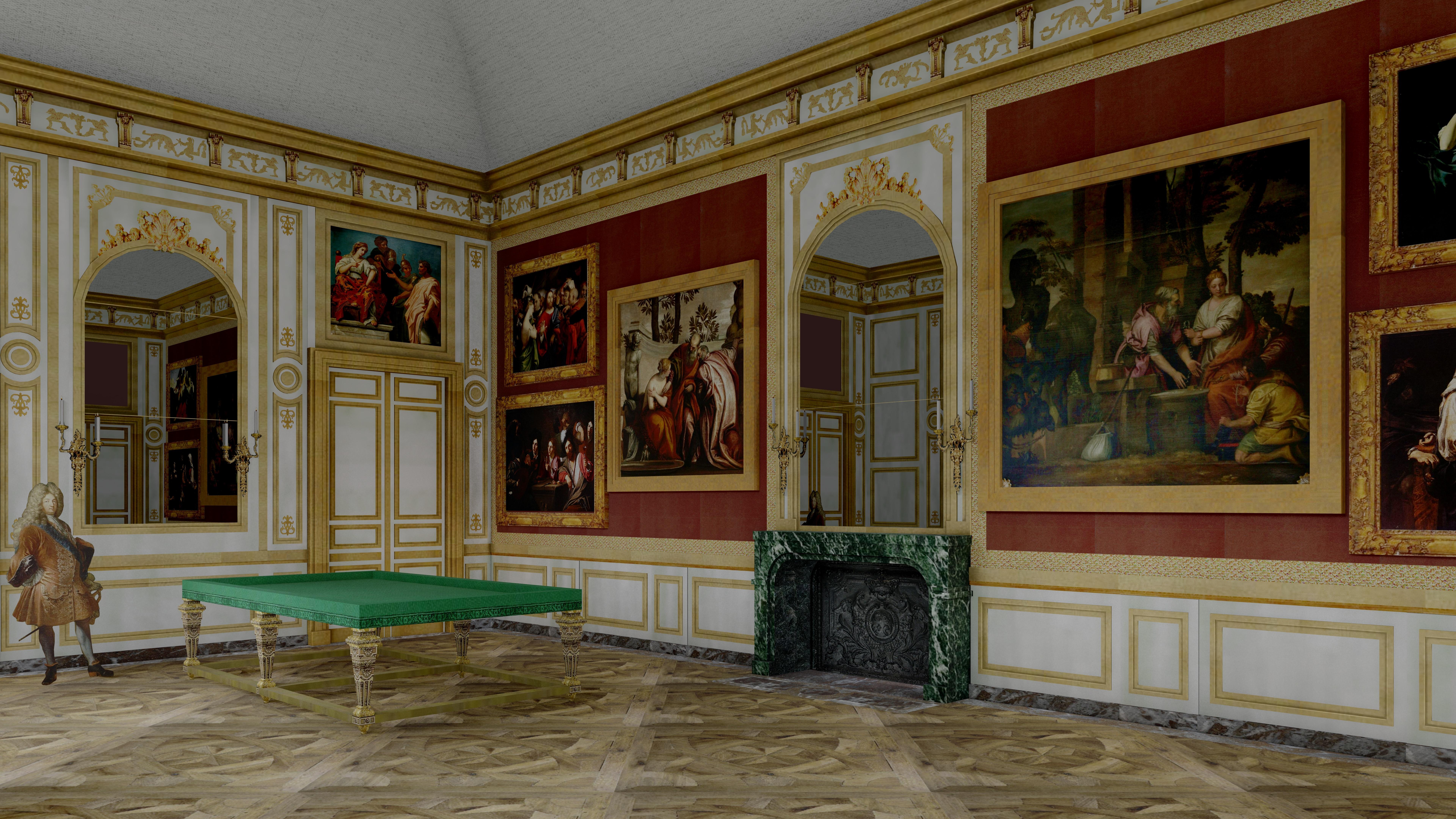 Filegrand Salon Aile Des Marronniers Chateau Meudonjpg