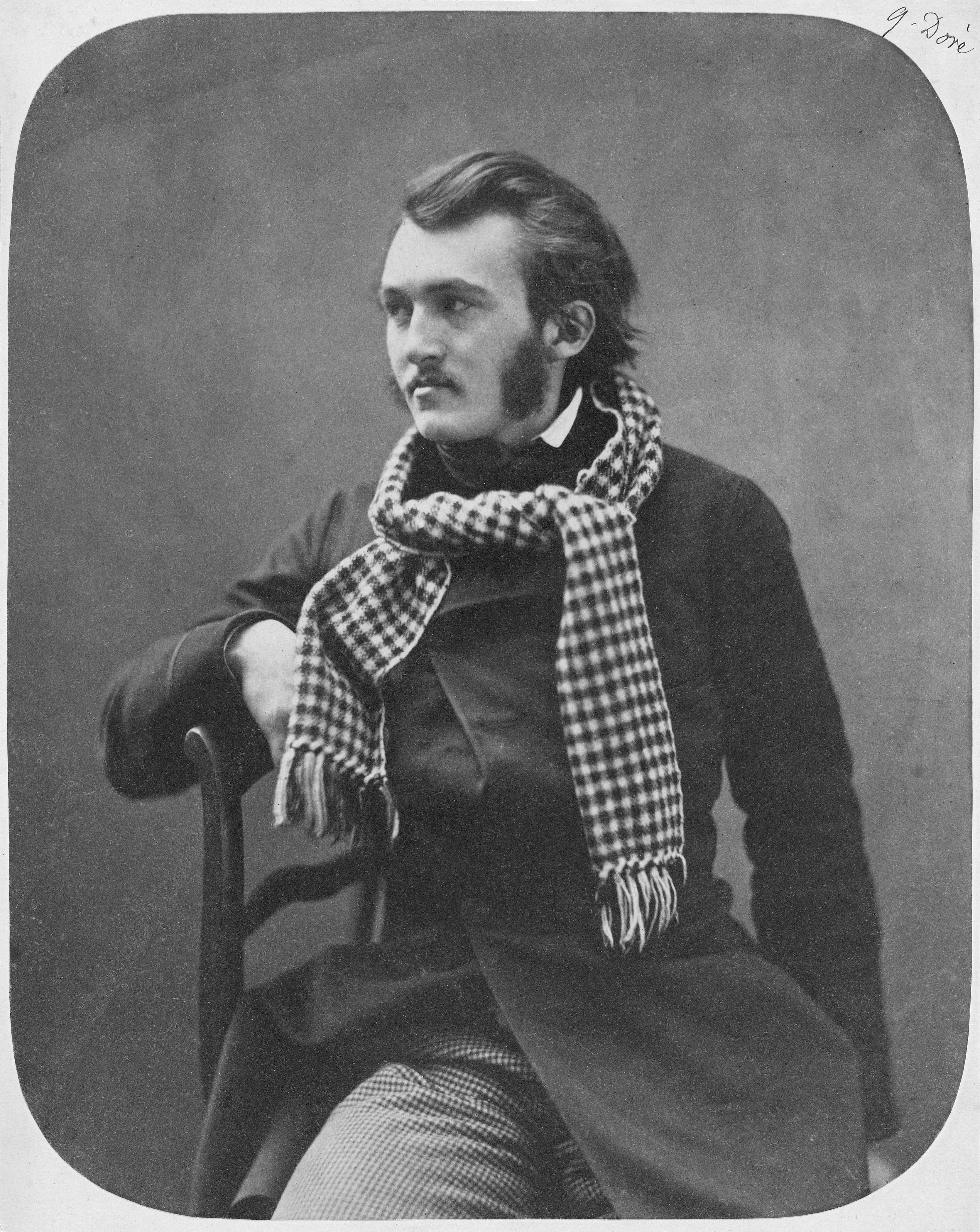 File:Gustave Doré by Nadar - Getty Museum.jpg - Wikimedia Commons