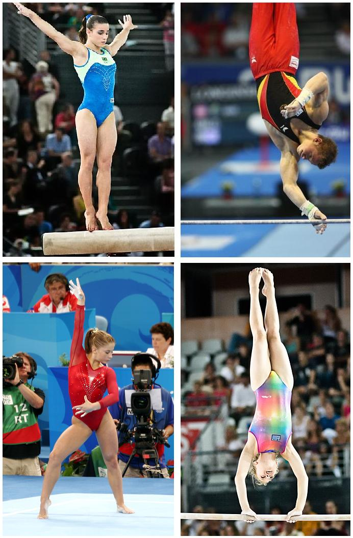 gymnastics wiktionary