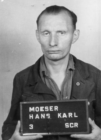 Auschwitz concentration camp personnel