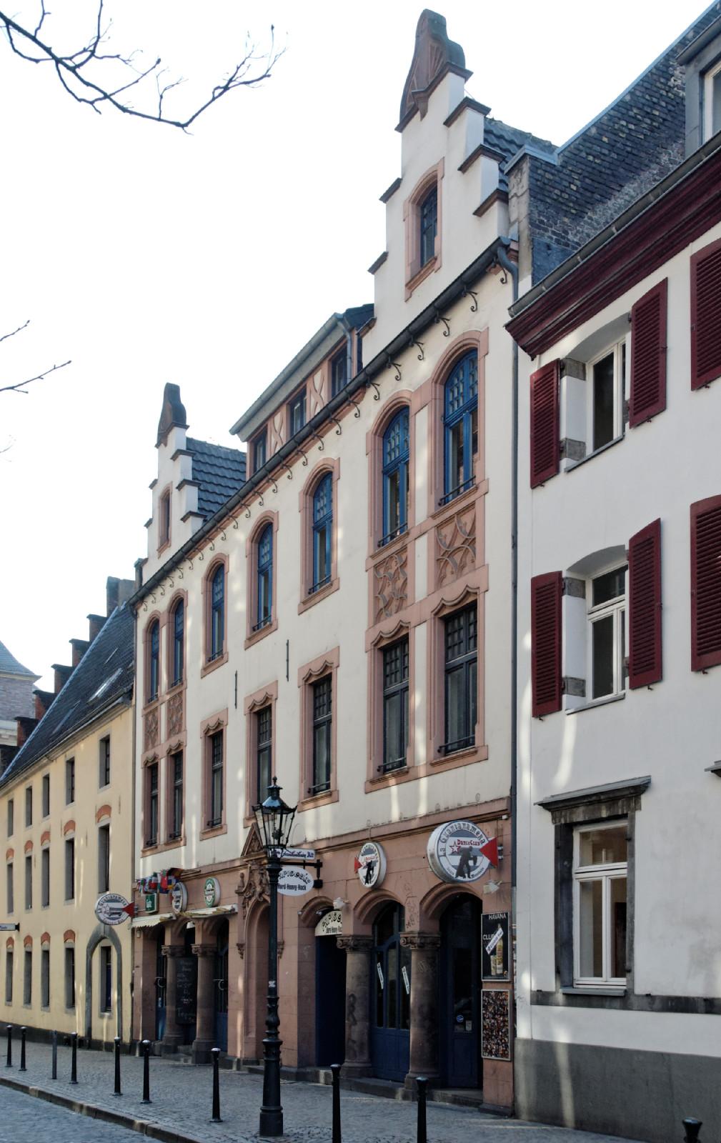 datei haus liefergasse 7 in duesseldorf altstadt von. Black Bedroom Furniture Sets. Home Design Ideas