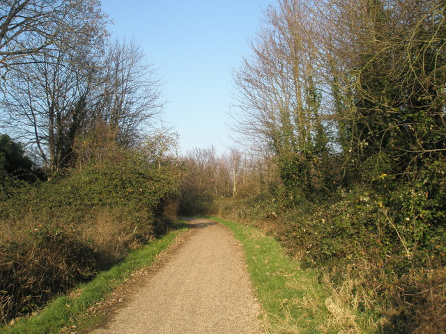 Hayling Billy Trail near Montgomery Road - geograph.org.uk - 635578