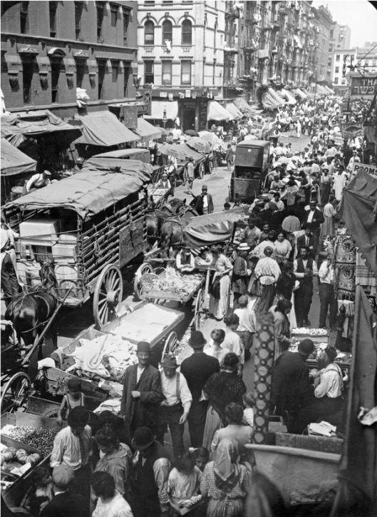 Hester Street, de Nueva York, 1903.
