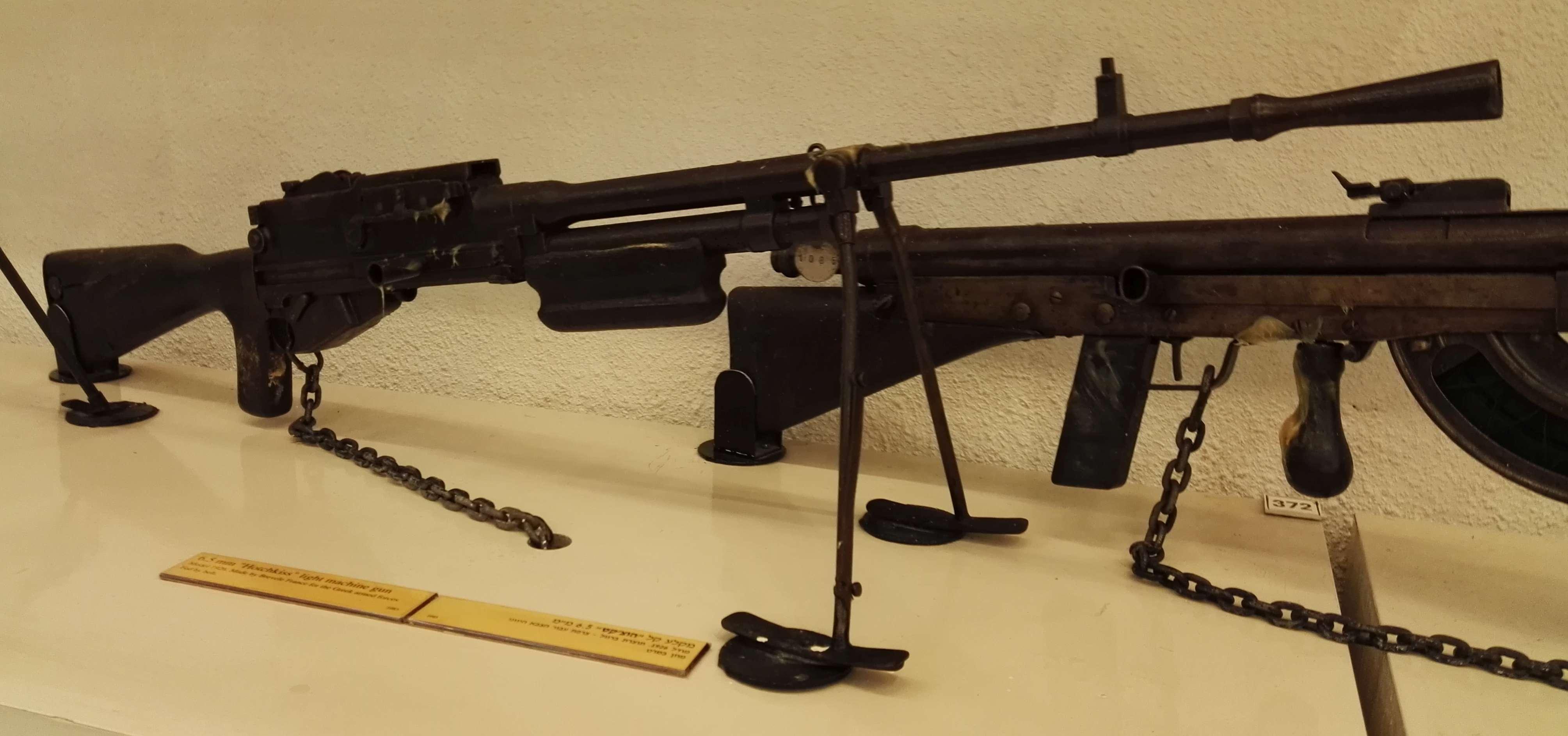 Hotchkiss M1922 machine gun - Wikipedia