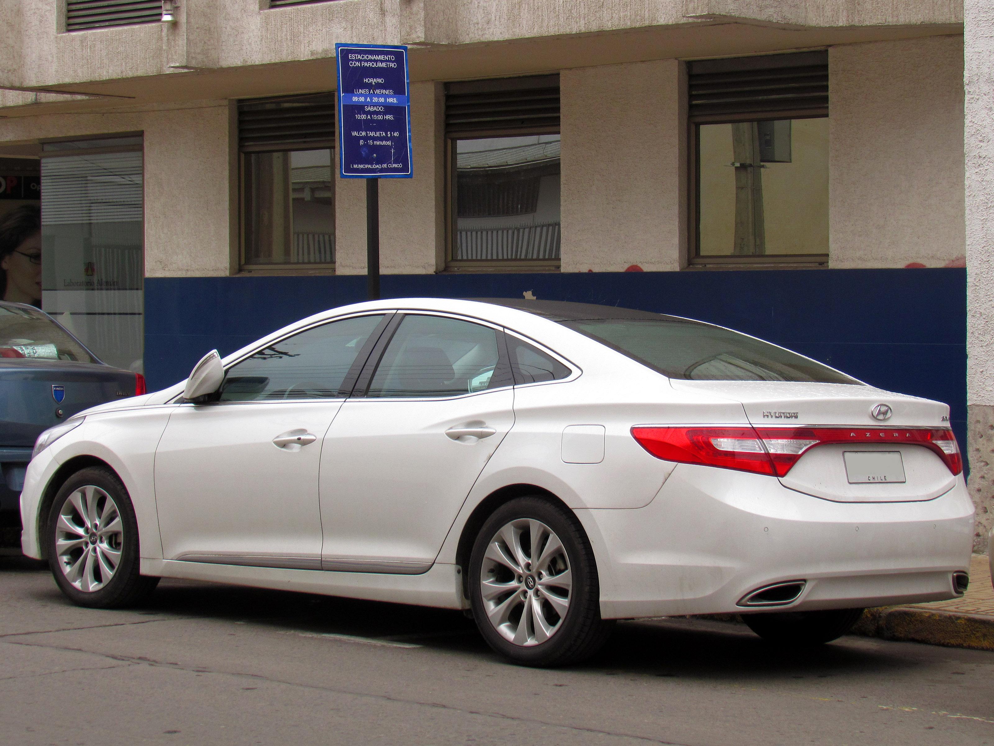 new azera hyundai car models