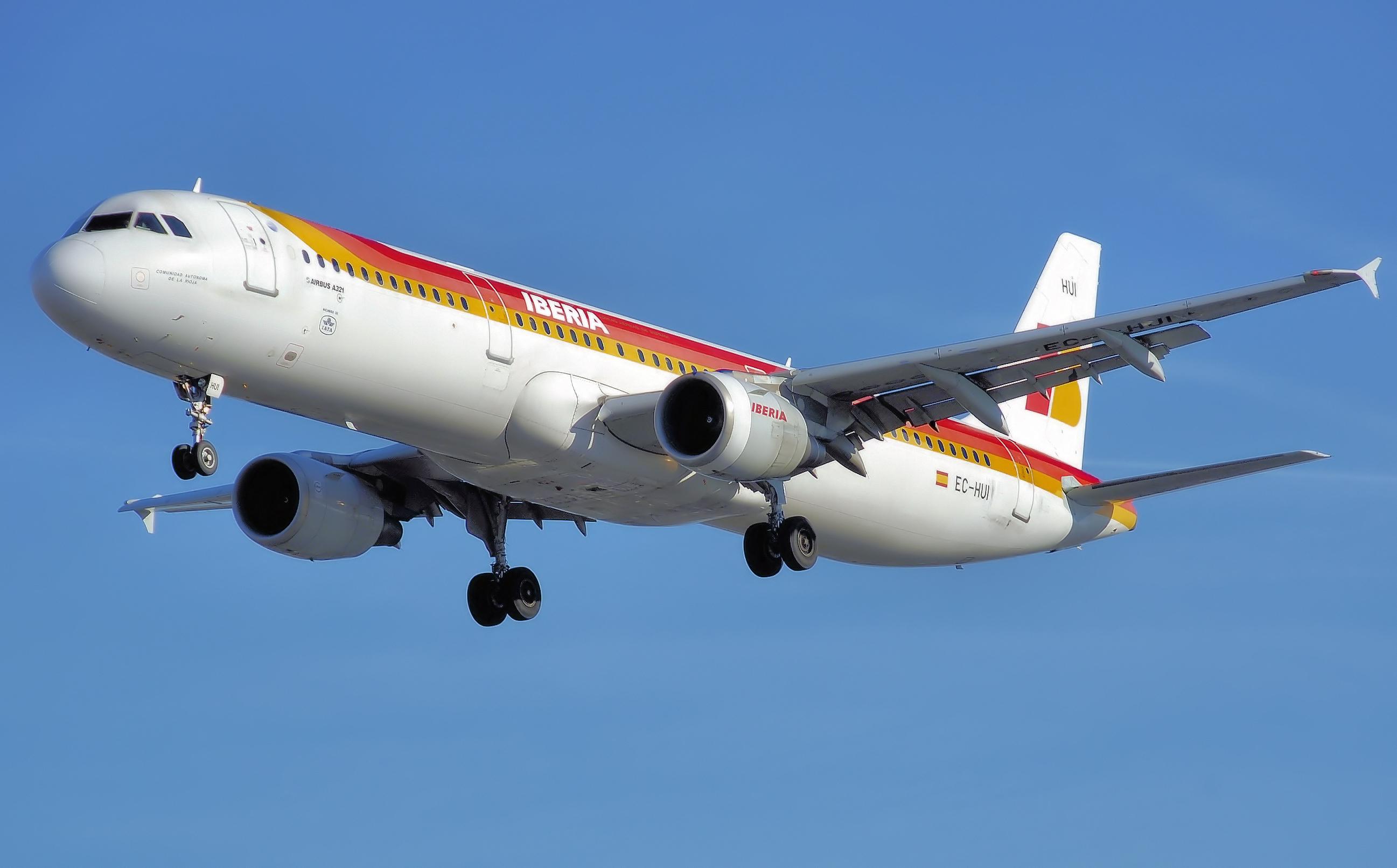Iberia a321 200 ec hui arp Viajando Iberia gravidinha
