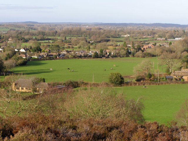 Ibsley from Ibsley Common, New Forest - geograph.org.uk - 312928