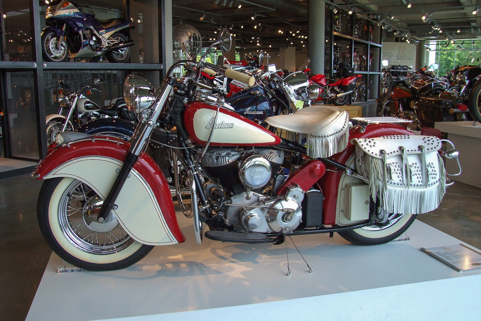 indian chief 1950 bikes motorcycles ride credit barber wikipedia wikiwand