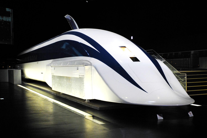 Trem com o recorde de velocidade máxima