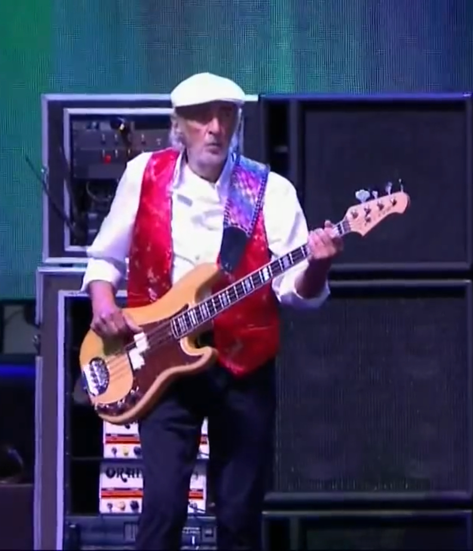 The 72-year old son of father (?) and mother(?) John McVie in 2018 photo. John McVie earned a  million dollar salary - leaving the net worth at 275 million in 2018