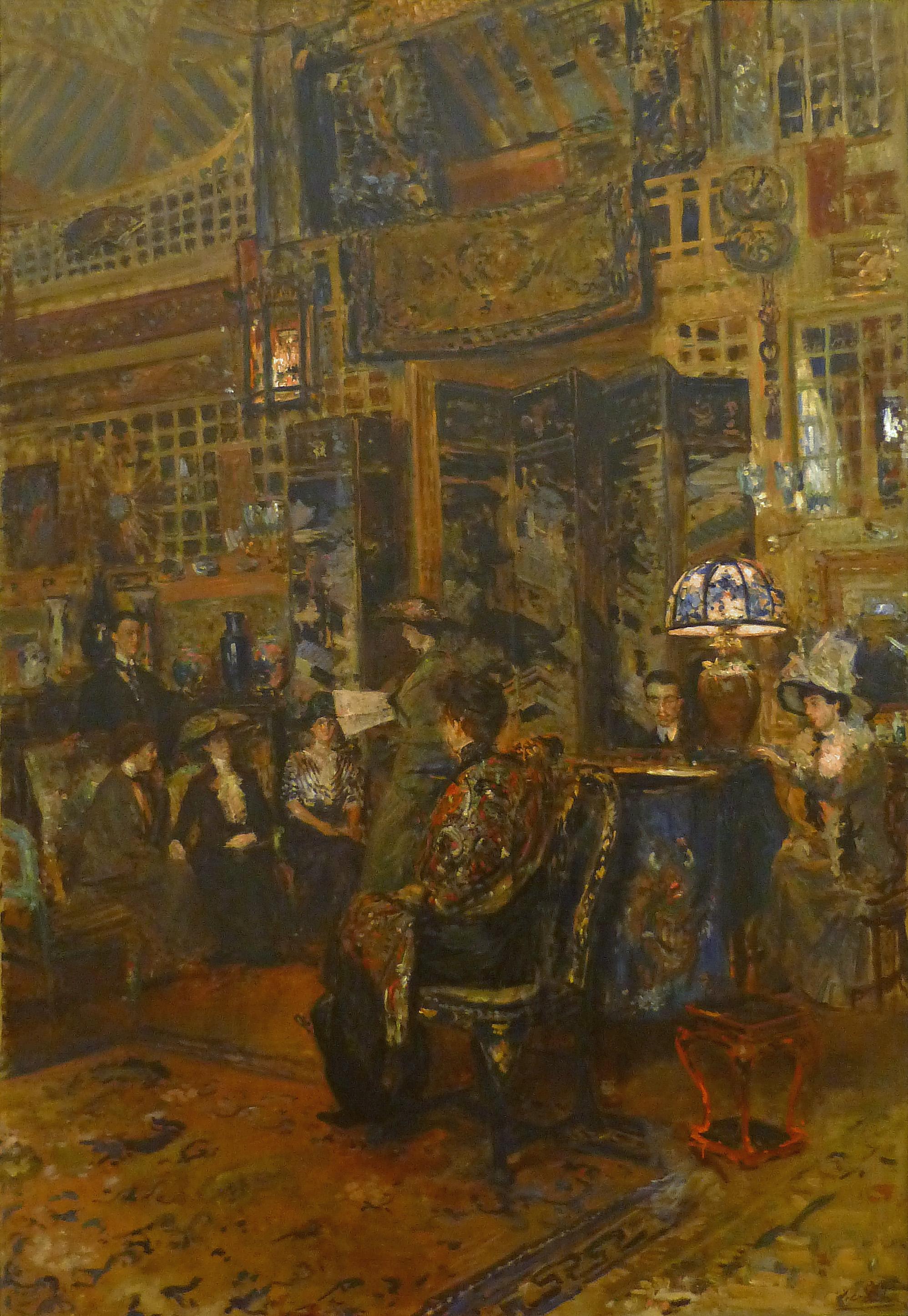File jacques emile blanche le concert mus e d 39 art moderne et contemporain de - Musee d art moderne et contemporain de strasbourg ...