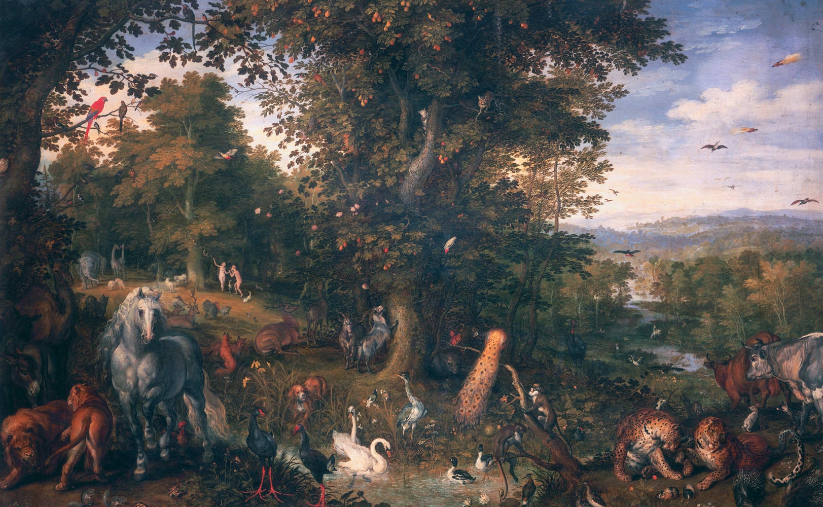 the influence of the garden of eden through temptation Sin, redemption and temptation: northern european art and the goal of recreating eden on as he resists the temptation of the devil through.