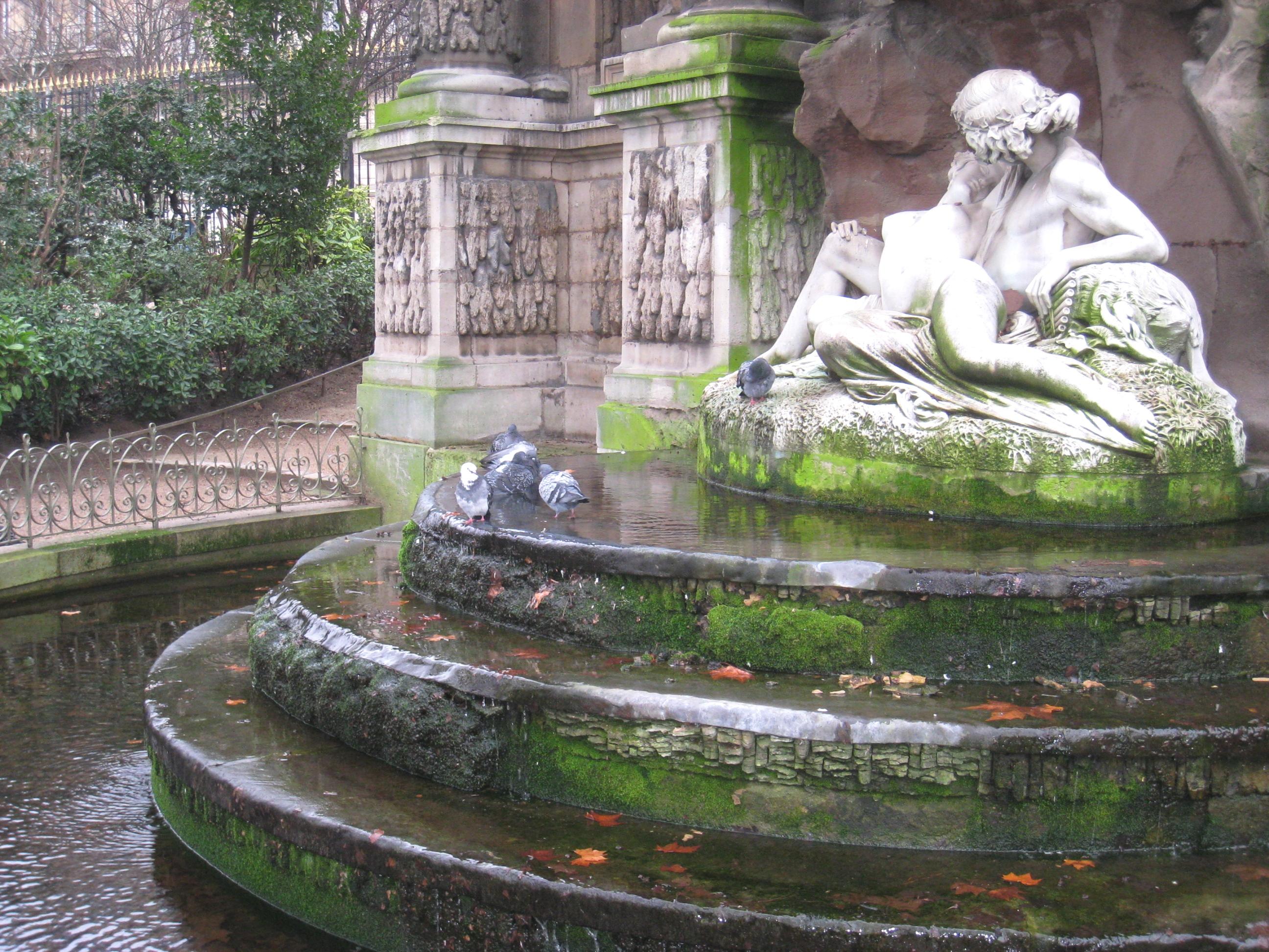 File Jardin du Luxembourg Medici Fountain detail JPG Wikimedia